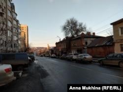 Улица в Саратове, где живет семья Ким