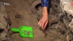 В Мексике археологи обнаружили башню из человеческих черепов