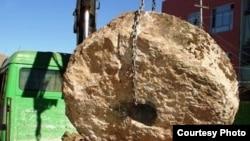 إحدى اللقى الآثارية المكتشفة في دهوك