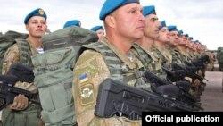 Репетиція військового параду до 25-ї річниці Незалежності України. Київ, 12 серпня 2016 року