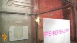 Голосование в Славянске