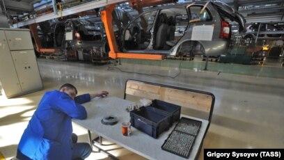 Сборка на конвейере волжского автозавода автомобиля лада калина брюховецкий элеватор контакты