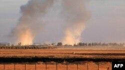 В районе боевых действиях у сирийского города Алеппо. Иллюстративное фото.