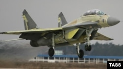 A MiG-29K fighter jet (file photo)