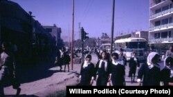 Ооганстан, 1967-жыл. Аризона университетинин окутуучусу, доктор Уильям Подличтин фотосүрөтү.