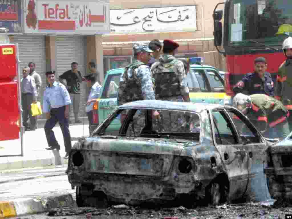 Жертвами нескольких взрывов в Багдаде стали не менее 11 человек