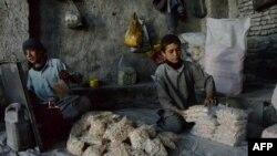 یک کودک افغان