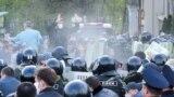 На митинге ковид-диссидентов, Владикавказ, 20 апреля