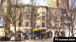 Житлові будинки в центрі окупованого Донецька