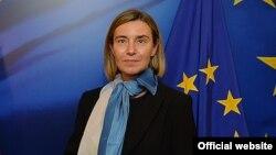 Европа Иттифоқининг ташқи ишлар ва хавфсизлик сиёсати бўйича Олий вакили Фредерика Могерини.