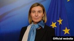 Верховный представитель ЕС по иностранным делам и политике безопасности Федерика Могерини.