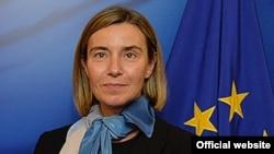 Верховный представитель ЕС по иностранным делам и политике безопасности Фредерика Могерини.