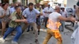 Crimean Tatar Sets Himself On Fire To Protest Building Development