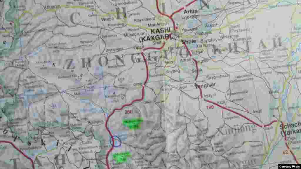 Трасса Кара-Корум из Кашкара в Пакистан через озеро Кара-Коль