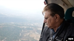 Farooq Haider Khan, prime minister of the Azad Kashmir region that is controlled by Pakistan