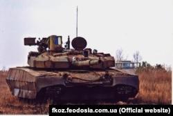 Продукція Феодосійського оптичного заводу для танків