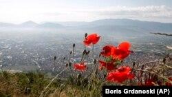 Поглед на Тетово од Шар Планина