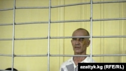Azimjan Askarov in court earlier this month