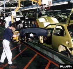 """Производство автомобиля """"Форд"""", 1997"""