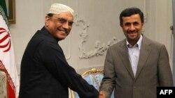Зардари и Ахмадиниџед