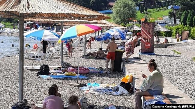 Turisti na Panonici