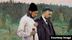 Михаил Нестеров. Философы (С.Н. Булгаков и П.А. Флоренский)