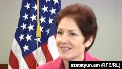 Outgoing U.S. Ambassador to Armenia Marie Yovanovitch