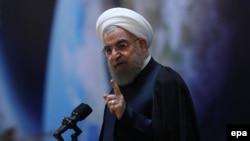 Иран президенті Хассан Роухани. Тегеран, 1 ақпан 2017 жыл. (Көрнекі сурет)