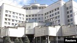 Здание Конституционного суда Украины в Киеве.