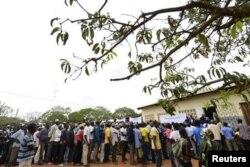 Муниципальные выборы в одной из провинций в Мозамбике