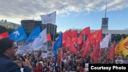 Митинг оппозиции в Санкт-Петербурге, 24 июля 2019 года