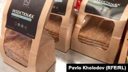 Хлібці з хробаками у данському супермаркеті