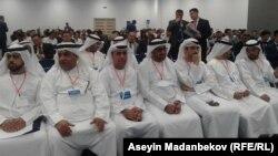На международном экономическом форуме «Иссык-Куль-2018». 21 июля 2018 года.
