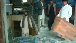 В Афганистане смертник протаранил здание Службы безопасности и взорвал автомобиль (видео)