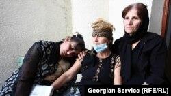 Выселенные беженцы требуют от правительства выдачи жилплощади в Тбилиси