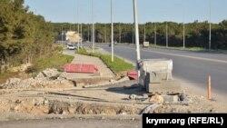 Камышовое шоссе в Севастополе, иллюстрационное фото