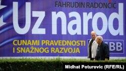 Predizborni plakat u Sarajevu