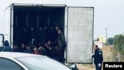 Krijumčarenje migranata, fotoarhiv