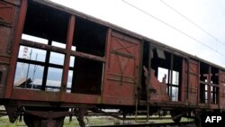 Un vechi tren de marfă