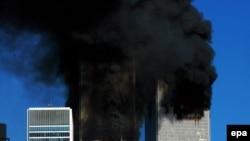 Башни близнецы. Теракт в США 11 сентября 2001 года.