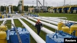 Устаткування підземного газосховища «Дашава» на заході України