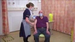 В Великобритании началась вакцинация против COVID-19 препаратом AstraZeneca (видео)