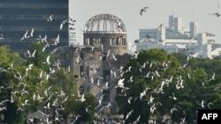 Мемориал в Хиросиме, Япония.