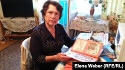 Надежда Кубанкина, дочь ветерана Второй мировой войны Ильи Кубанкина. Темиртау, 19 мая 2017 года.