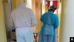 Testare pentru Covid la un cămin pentru bătrâni din sectorul 1, București