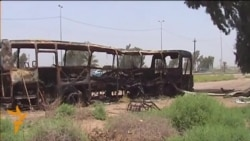 Militant Attack On Iraqi Prisoner Bus Kills Dozens