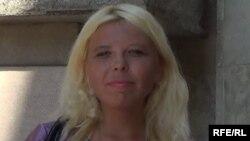 Кубанская активистка Дарья Полюдова, которую судят в России по обвинению в призывах к экстремизму и сепаратизму.