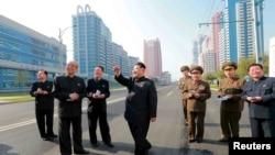 Sjevernokorejski vođa Kim Jong-un (Kim Džong Un)