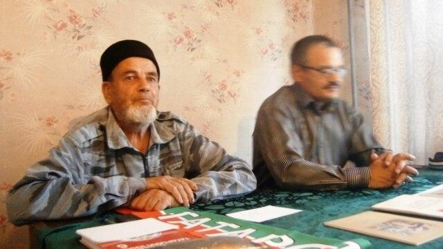 Гамил Камалетдинов (с) һәм Рәфис Кашапов