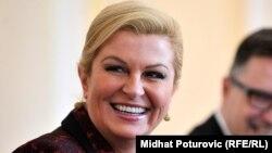 Hrvatska predsjednica mora promicati hrvatske proizvode: Kolinda Grabar-Kitarović